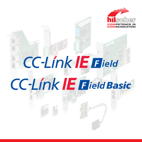 Hilscher supports CC-Link IE Field and CC-Link IE Field Basic