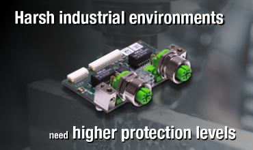 Real-Time Ethernet for harsh industrial environments - cifX PC-Cards with M12 interface