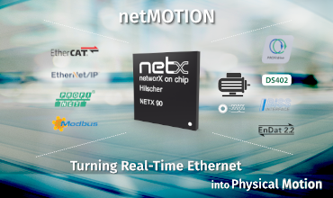Turning Real-Time Ethernet into Physical Motion