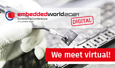 We are back! – embedded world 2021 DIGITAL