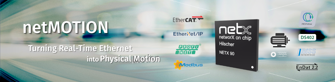 netMotion - Turning Real-Time Ethernet into Physical Motion